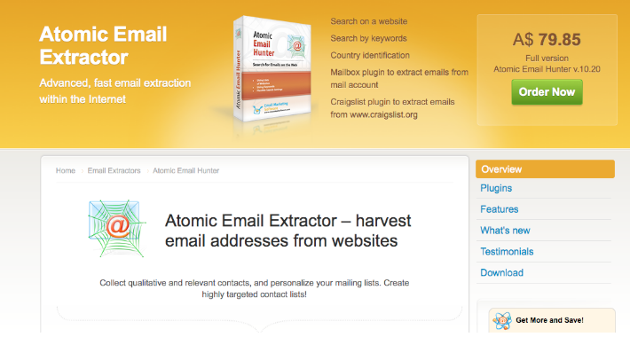 Atomic Email Extractor Free Download