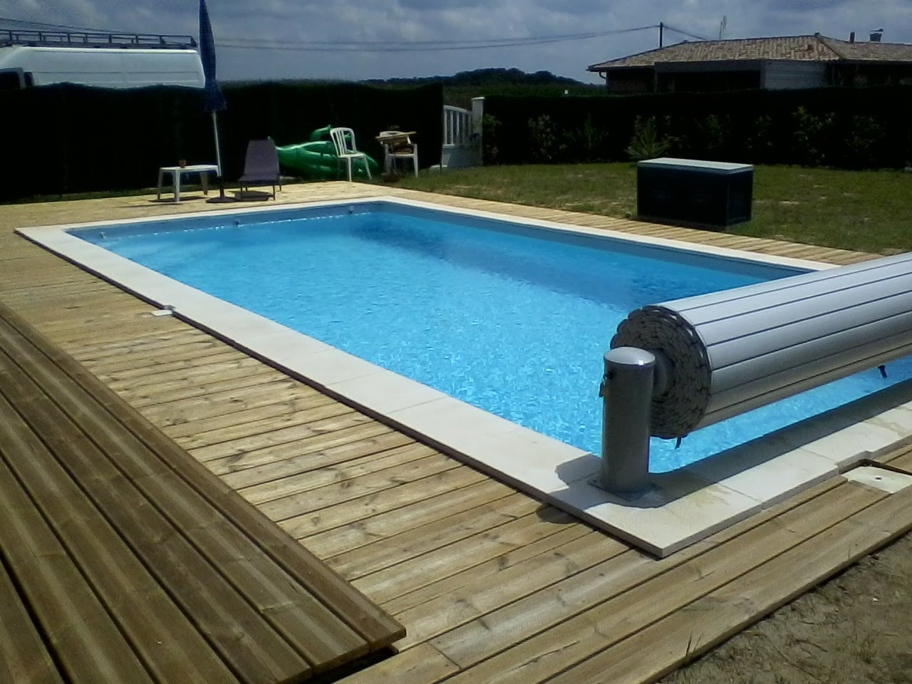Bassins bois au fil de l 39 o for Site piscine