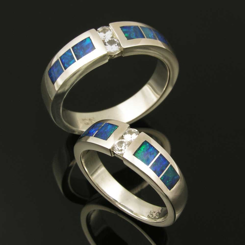 Stainless Steel Wedding Rings Sets 14 Epic Handmade Wedding Sets by