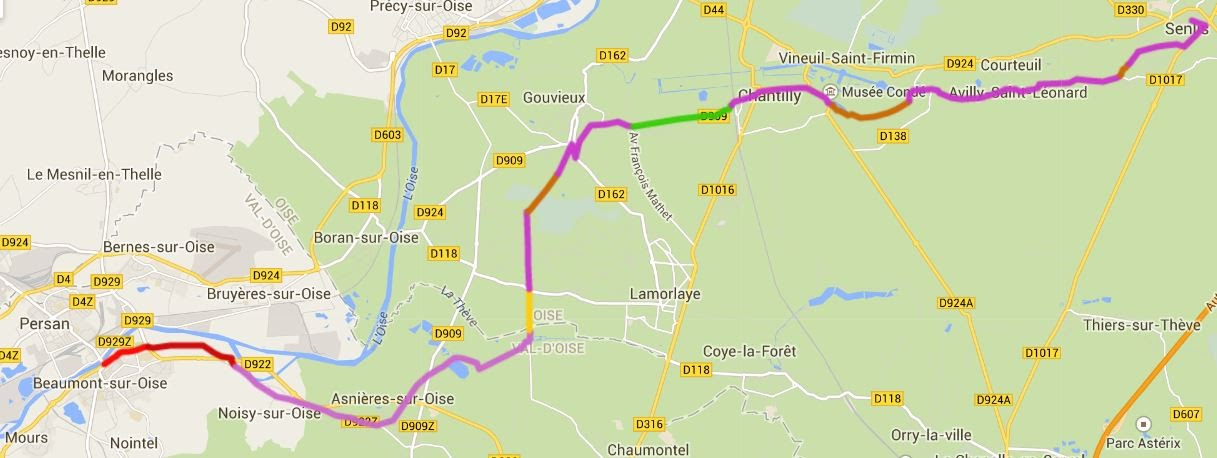 2 beaumont sur oise senlis 29 km avenue verte london for Garage de l avenue senlis