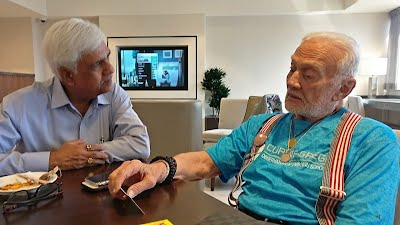 Meeting with Edwin (Buzz) Aldrin, Second human to land on the Moon