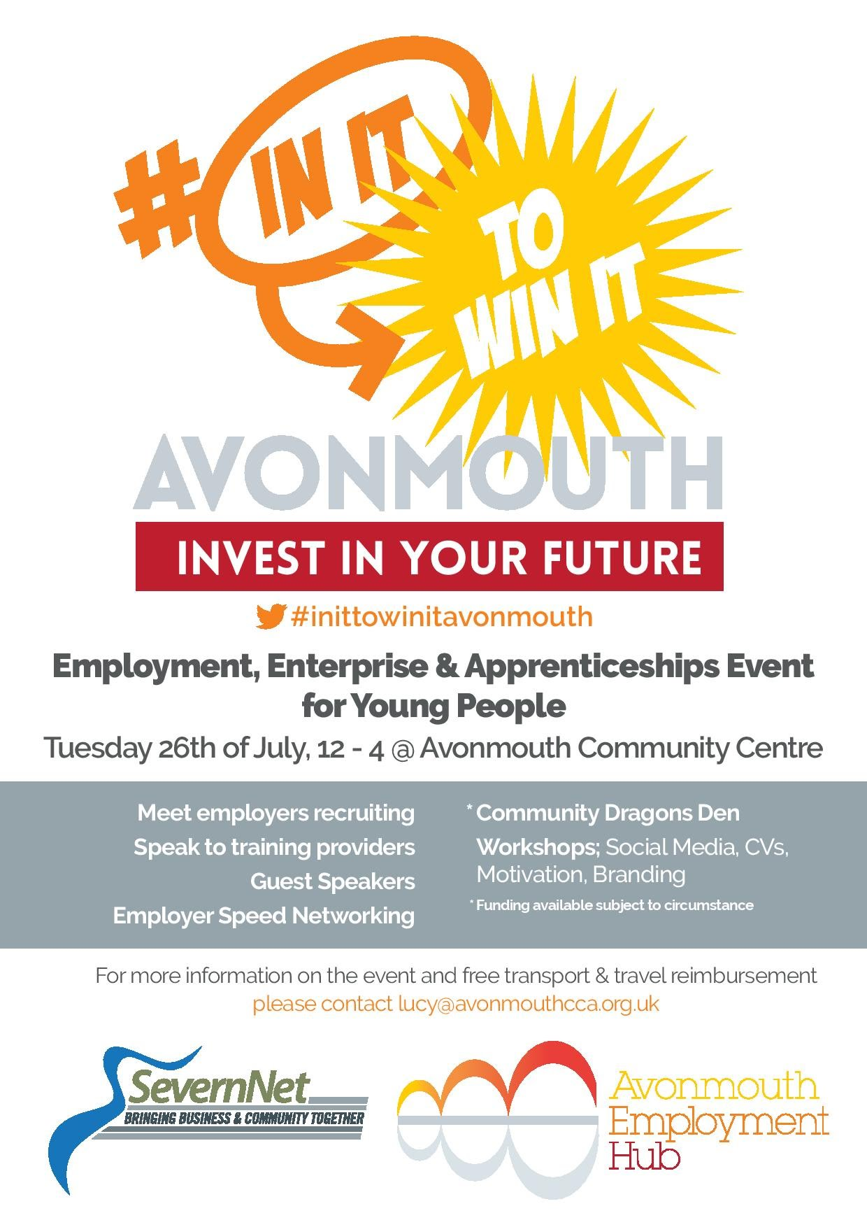 Youth Employment Event 18-24 Free Food, Free Trasport & Free AdviceAAA