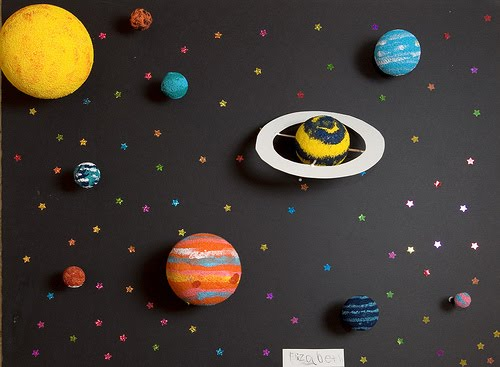 a solar system made of clay - photo #9