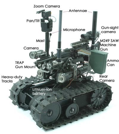 Military Robotics - A Whole Lot of Robot
