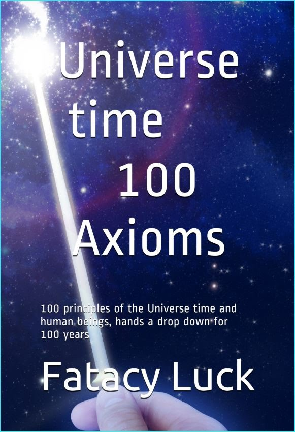 Universe time 100 Axioms   by Fatacy Luck