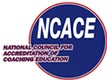 National Council for Accreditation of Coaching Education logo