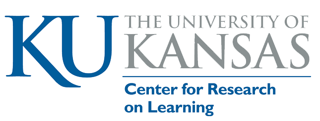 KU Center for Research on Learning logo