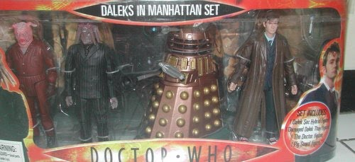 Dr. Who Figurines