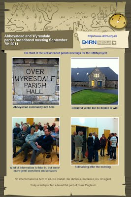 over wyresdale and abbeystead parish meeting for b4rn
