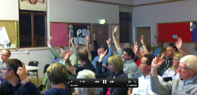 show of hands for b4rn at the wray meeting