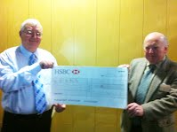 Walter Willcox cheque for b4rn