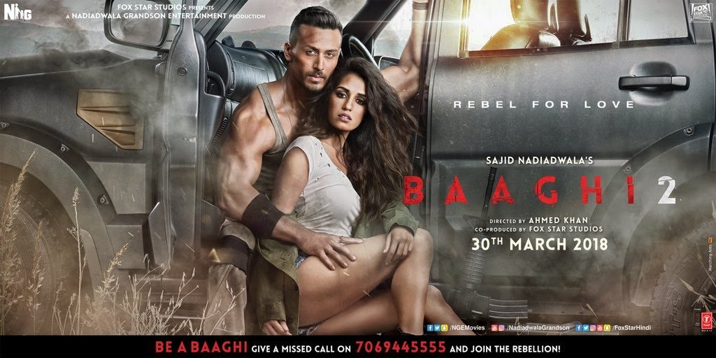 Baaghi 2 Full Movie Torrent Download Hd 720p 480p