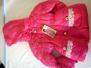 Girls Pink jacket. Was £16.00 now only £8.00