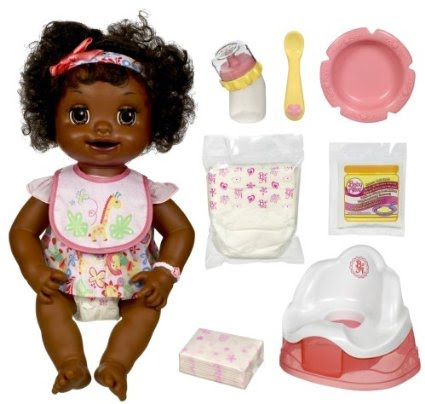 Baby Alive African American Learns To Potty Life Like Baby