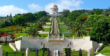 The Terraces of the Shrine of the Bab, Haifa, Israel