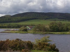 View of Benarty Hill from Lochore Meadows Country Park