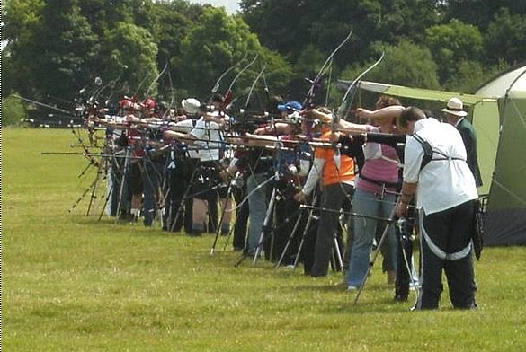 Tremendous turnout of archers for the Bannockburn Open FITA and Metrics Shoot