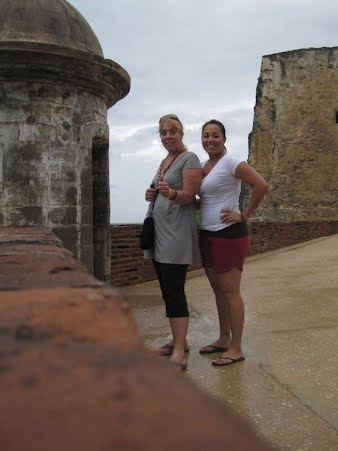 In Puerto Rico with my daughter two years ago