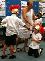 Lunchtime in the library - Greek Mythology