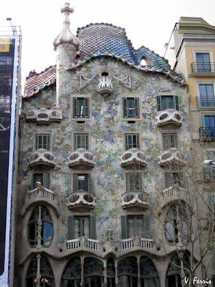 Casa batll barcelona modernista - Casas modernistas barcelona ...