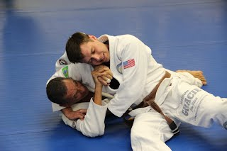 headlock escape self defense training with Bartman MMA and Self-Defense near Rockville, Silver Spring and Bethesda, Maryland