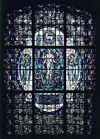 St. Cecilia Rose Window - Patroness of Sacred Music