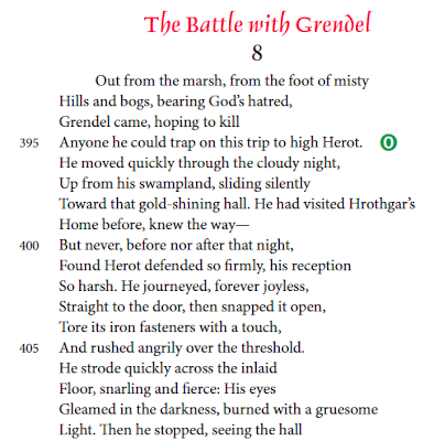why does hrothgar ask beowulf to battle grendels mother