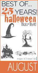 Stampin Up Best of August, Halloween