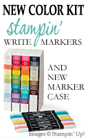 Stampin Write Markers New Color Kit