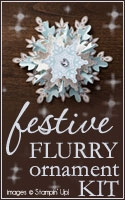Festive Flurry Ornament Kit from Stampin Up