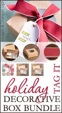 Holiday Tag It Decorative Box Bundles