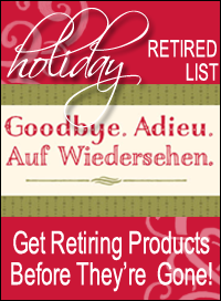 Stampin Up Holiday Retired List