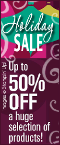 Holiday Sale by Stampin Up