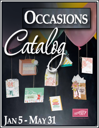 Occasions Catalog from Stampin Up