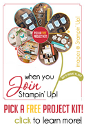 Pick a FREE Project when you join Stampin Up