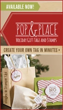 Pop And Place Tags by Stampin Up