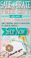 Sale-a-brate with Stampin Up