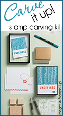 Stamp Carve Kit by Stampin Up