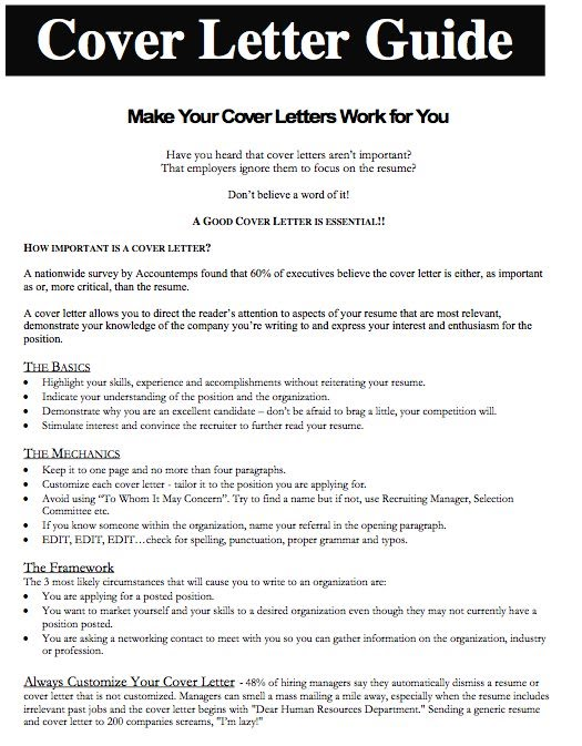 cover letter for employment gap Tips for writing an effective cover letter that will work everytime  how to write a cover letter that will get you hired  an obvious 2-year employment gap.