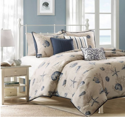 Beach themed bedrooms - What you need to know about jacquard bedding ...