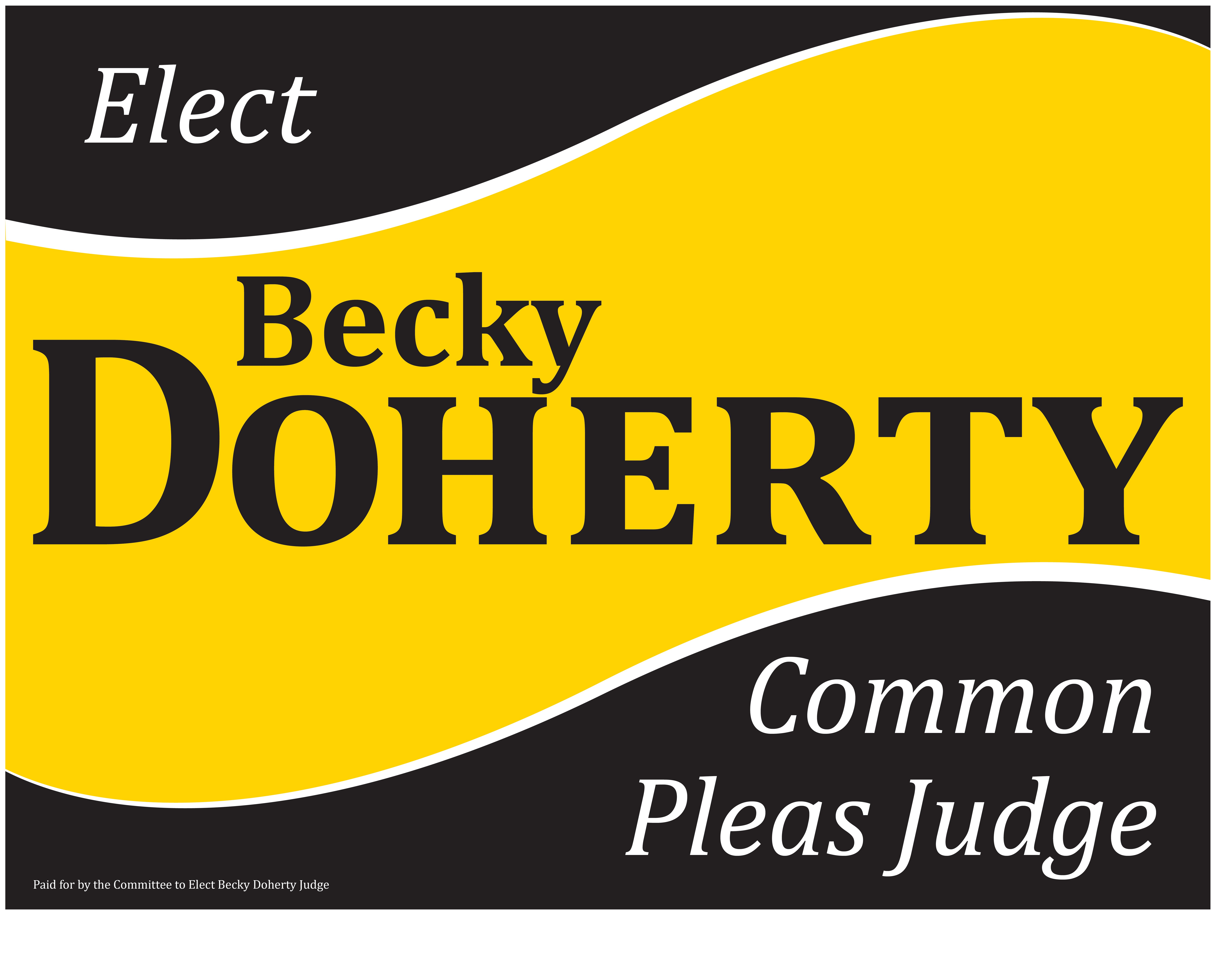 Becky Doherty For Judge 2014