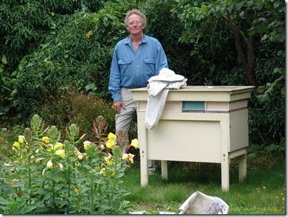 Bee hive darlington beelovat he developed the dartington hive specifically to keep bees in gardens or rooftops and not for commercial purposes sciox Choice Image