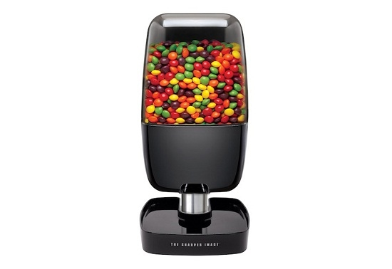 Motion activated candy dispenser for Redferret net
