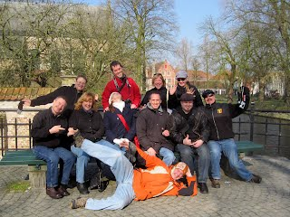 Group picture in Bruges