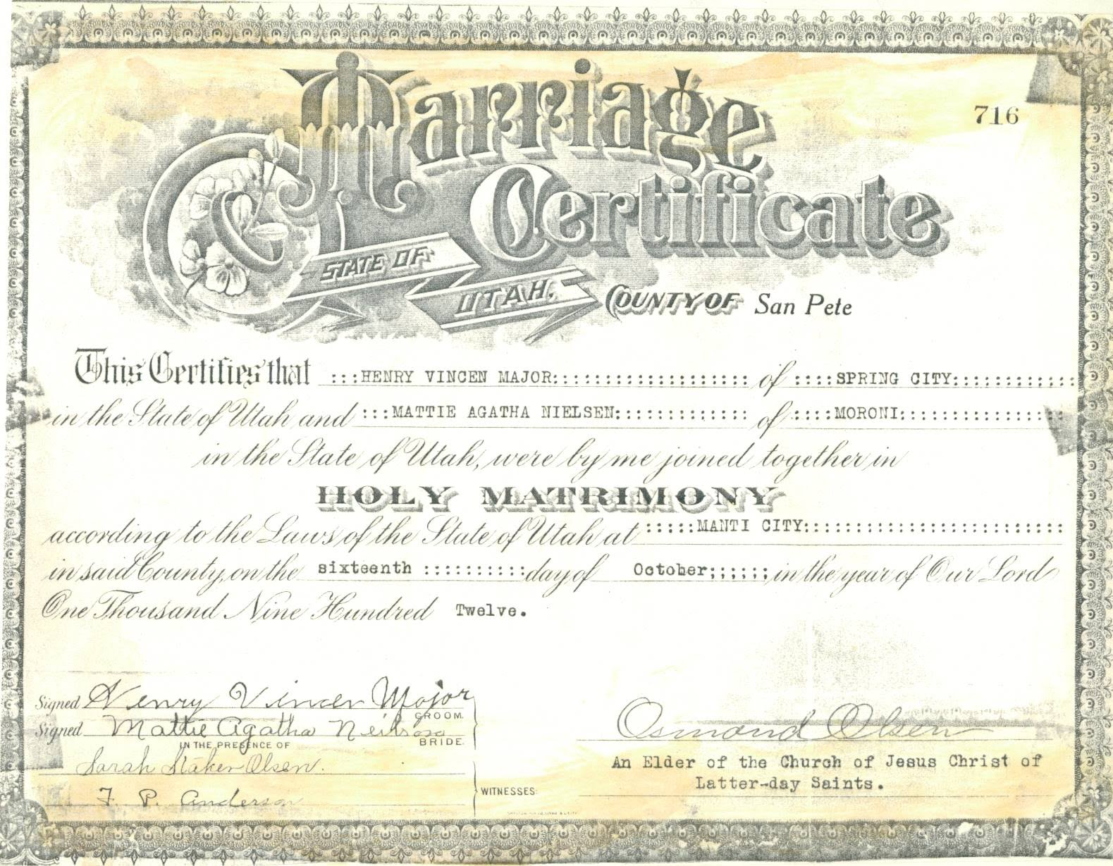 Gay Marriage License 36