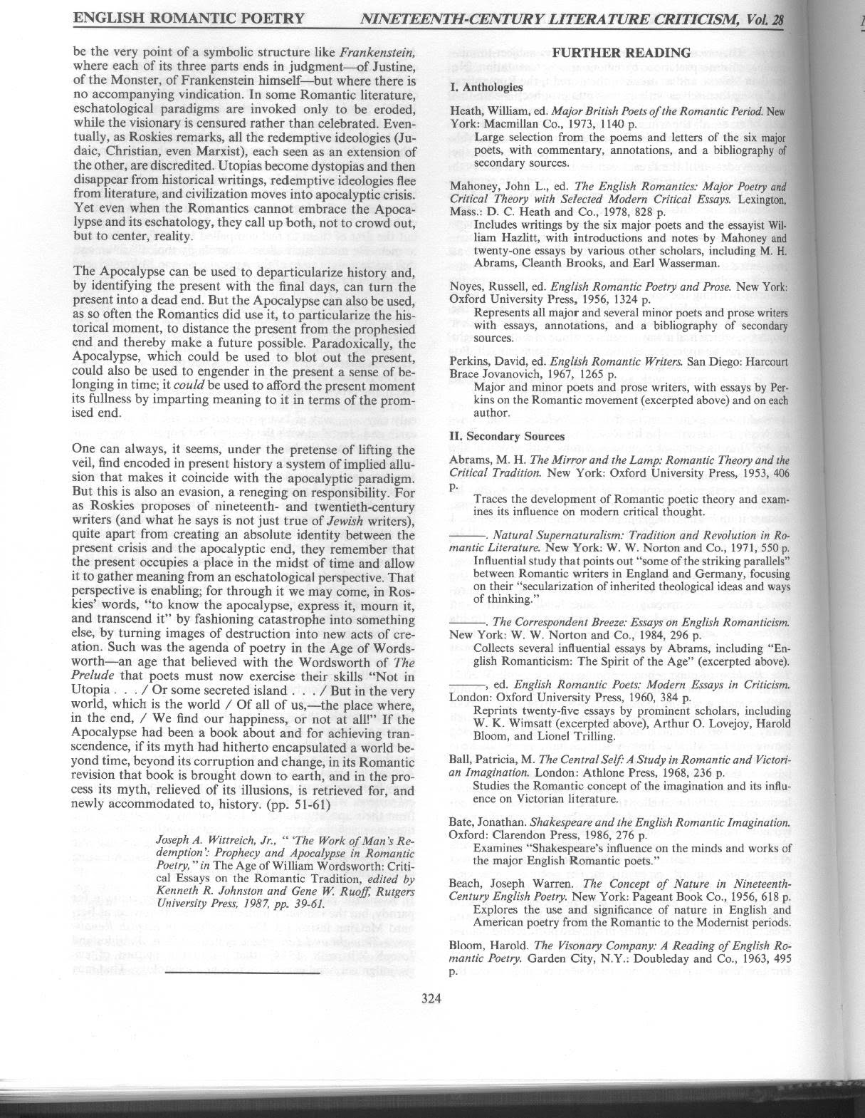 Romanticbibliographypages  Bersilak Bibliography Page