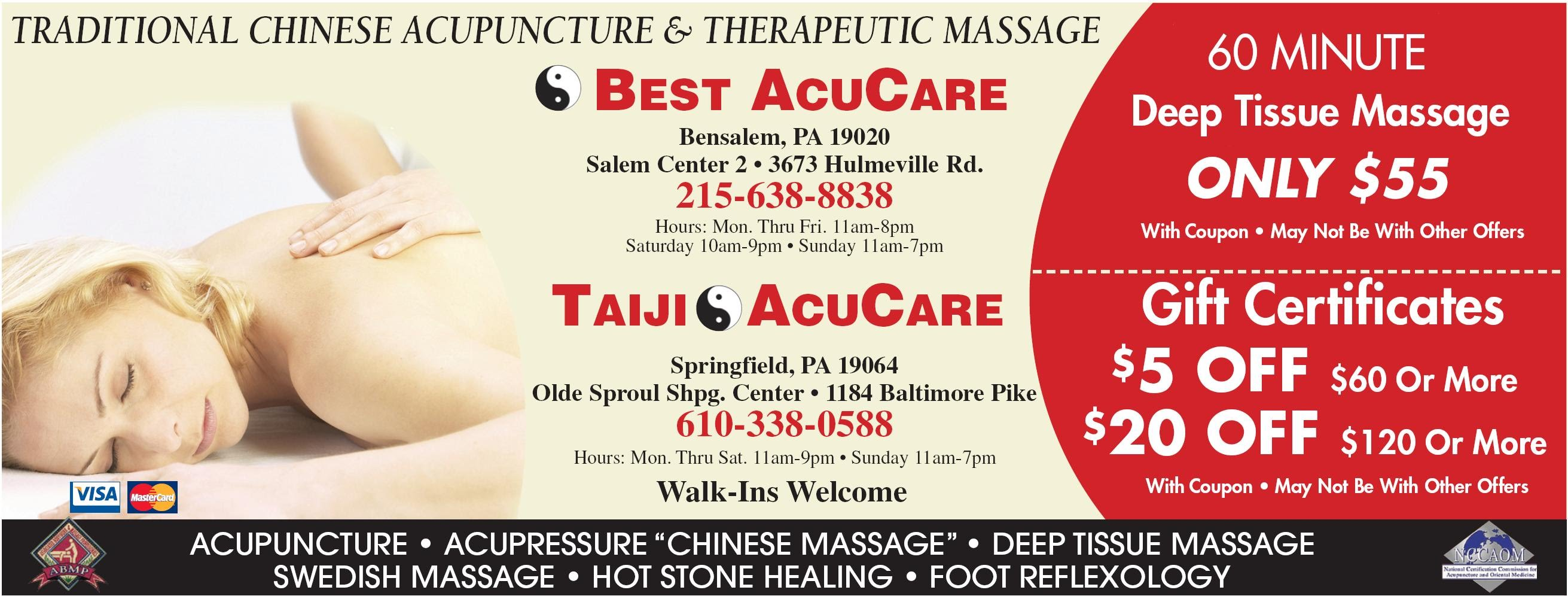 AcuCare Clinic - Acupuncture, Massage & Reflexology near ...