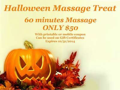 Halloween Massage Treat