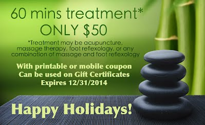 Holidays Coupon & Gift Certificates Available