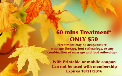 Fall Special available NOW!